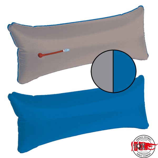 Légzsák - szürke/kék