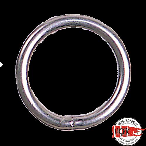 15mm-es rozsdamentes gyűrű